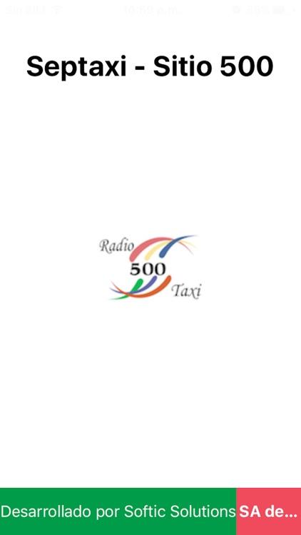 Sitio500 Taxi screenshot-3