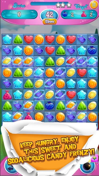 Sweet War Match 3 Puzzle Game