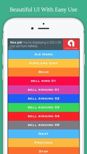 Bell Sounds FREE (Christmas,Fire alarm,Police Siren,Schoo