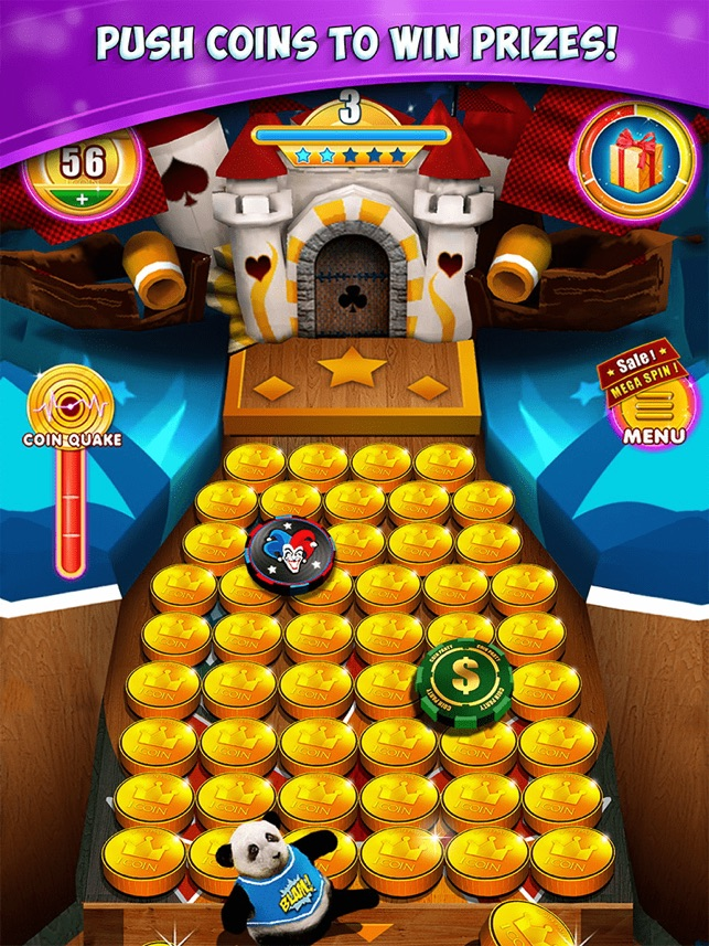 Spin token prizes for carnival games