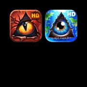 JoyBits Doodle Heaven + Hell Combo HD