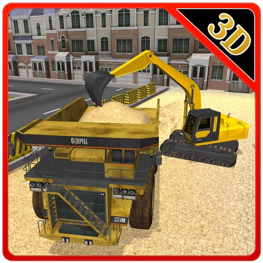 Construction Truck Simulator – Drive mega lorry in this driving & parking game iOS App