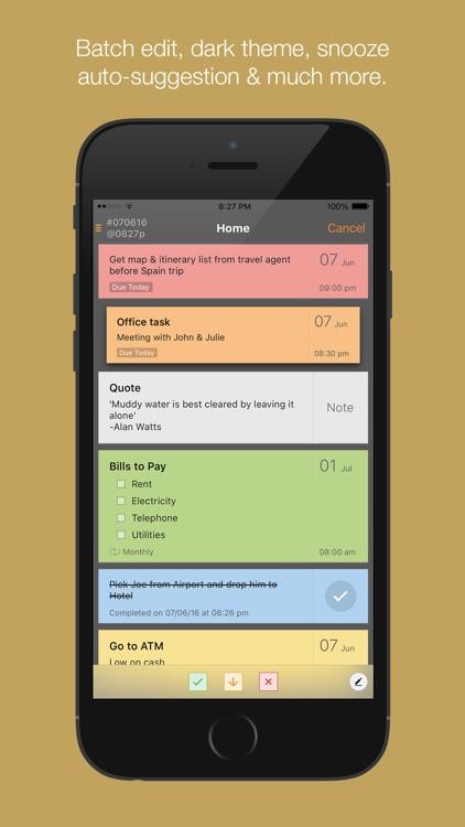 Taskcode - tasks + notes screenshot-3
