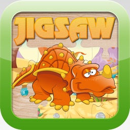 Dinosaur Jigsaw Puzzles – Learning Games Free for Kids Toddler and Preschool