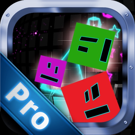 Great Leap Figures Pro - Geometric Figures Jumping To Avoid Sharp Obstacles