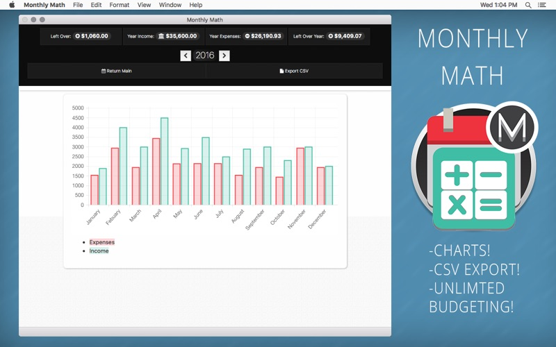 monthly math the simple monthly budget calculator app download