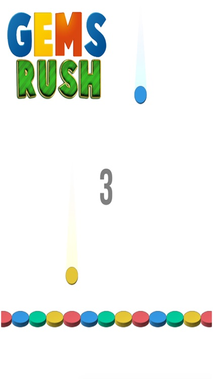Gems Rush - Free fun Puzzle Game screenshot-3