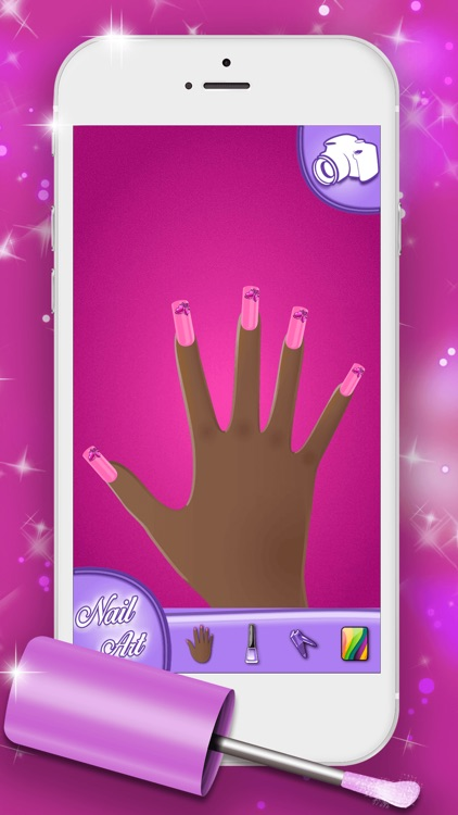 Nail Art Designs Games: Manicure Salon for Fashion Girl.s and Top Star Nail Makeover