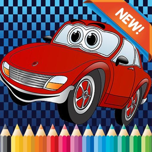 coches de dibujos animados para colorear libro guardera aprendizaje juegos gratis para los nios educativos