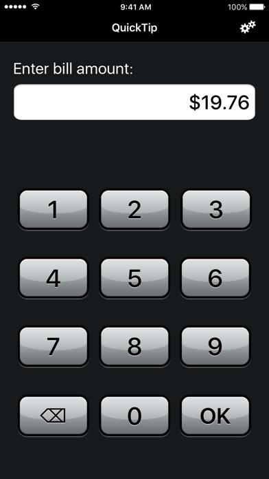 QuickTip™ Tip Calculator screenshot one