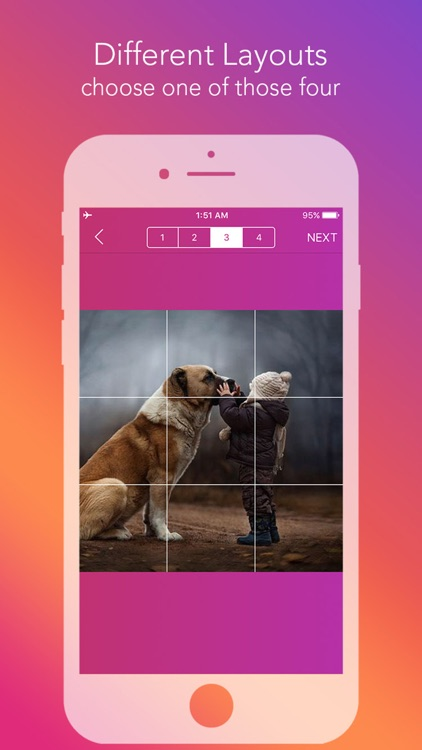 Griddy Pro - Split Pic in Grids For Instagram Post