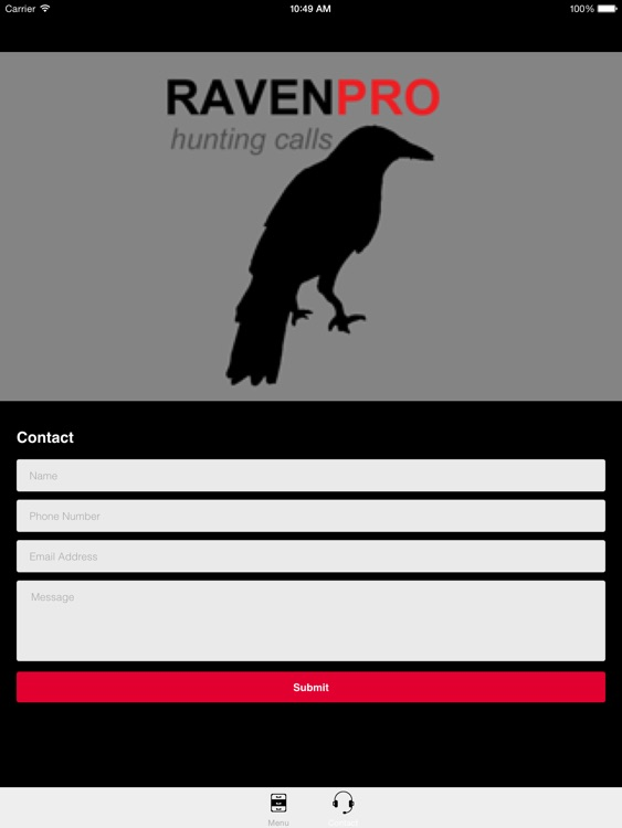 REAL Raven Hunting Calls -- 7 REAL Raven CALLS & Raven Sounds! - Raven e-Caller - Ad Free - BLUETOOTH COMPATIBLE screenshot-3