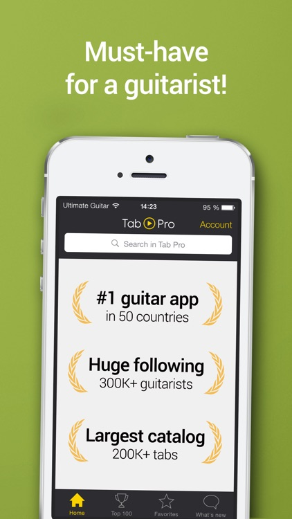 Tab Pro: learn, hear & play multitrack guitar tabs screenshot-4