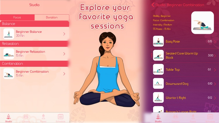 Yoga Asanas - Track Personal Yoga For Beginners screenshot-3