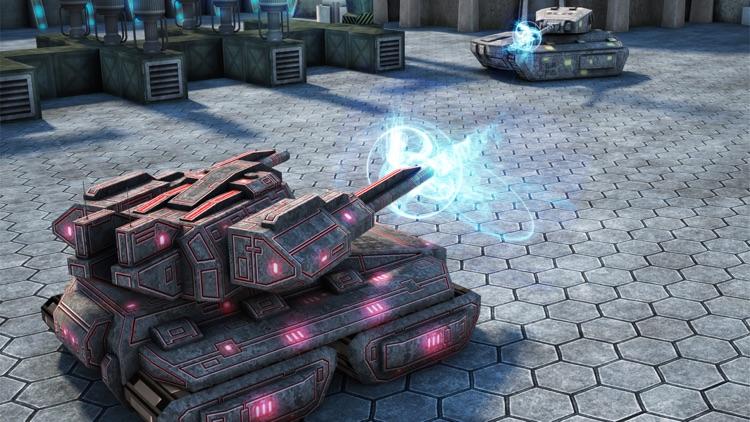 Tank Battle Shooting Game