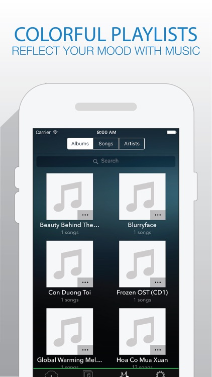 Katrina Music - Music Player For Cloud Platforms from Box Drive screenshot-4