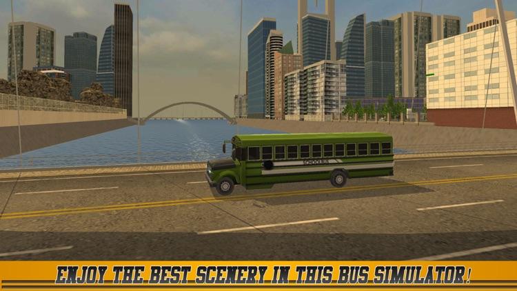 High School Bus Driver 2 screenshot-3