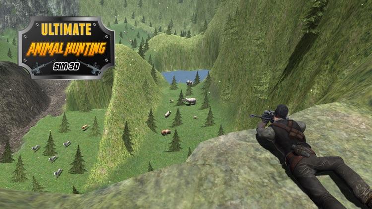 Ultimate Animal Hunting Sim 3D- Best shooting game of 2016 screenshot-4