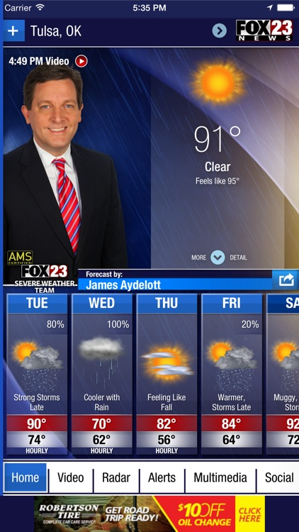 FOX23 Weather screenshot-0