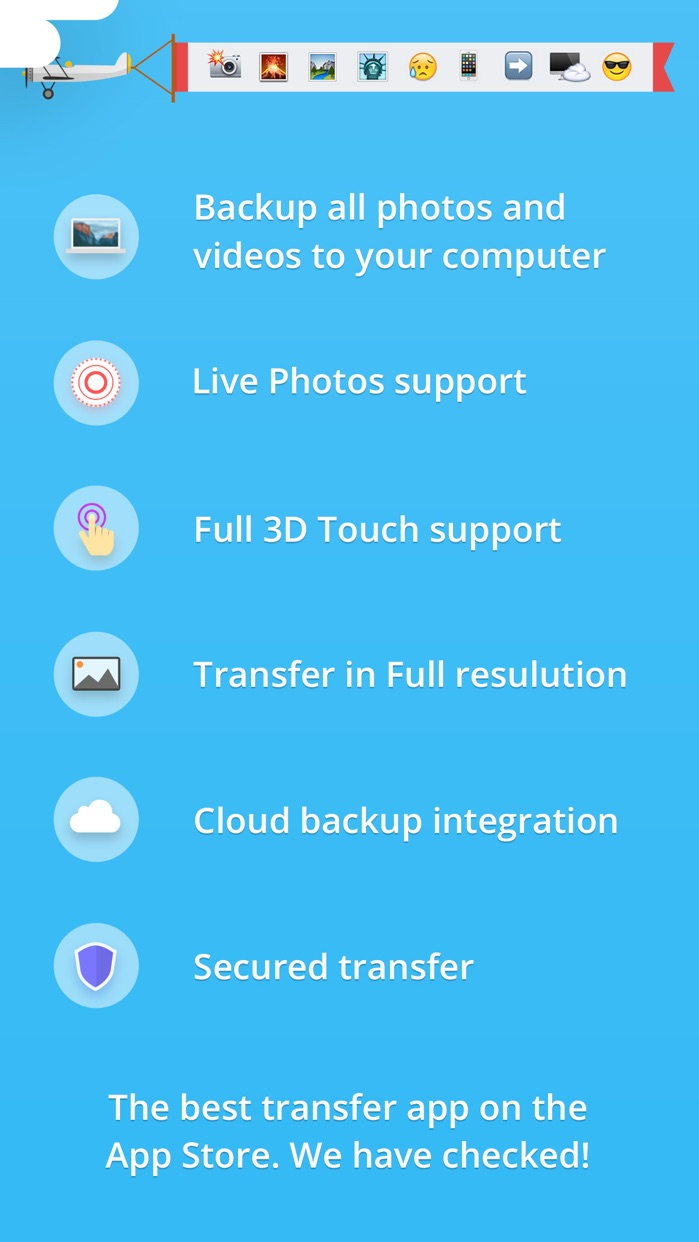 Photo Transfer 3.0 wifi - share and backup your photos and videos Screenshot