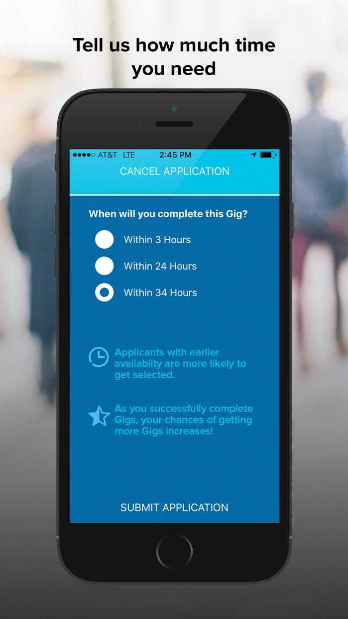 Gigwalk Screenshot
