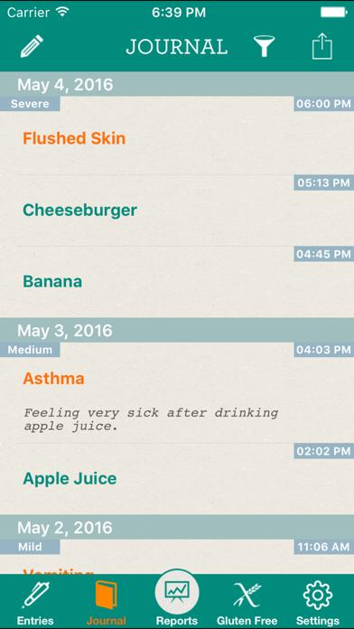 Allergy Journalのおすすめ画像2