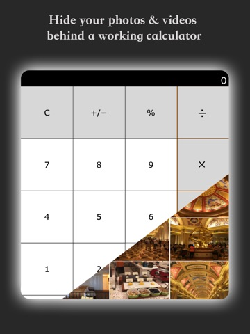 Screenshot #1 for My Calculator - Hide photos and videos