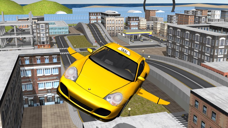 Flying Taxi Driver 3d Simulator