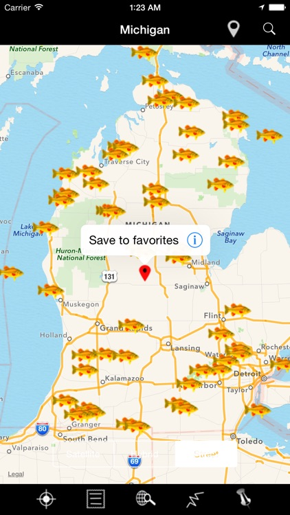 Michigan: Lakes and Fishes screenshot-4