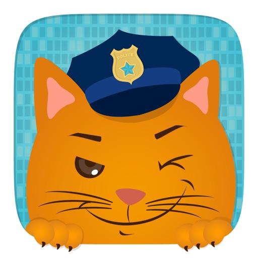 Детские игрушки автомобиля - полицейский патруль Игра для любопытных мальчиков и девочек