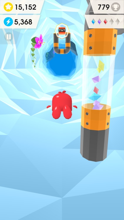 Catchy Crystals - Endless Cave Flyer screenshot-0