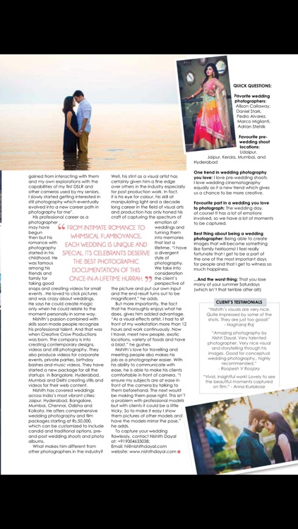 Wedding Po App | 24 Wedding Vows Magazine By Magzter Inc In Pretty Wedding Po App