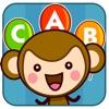 皮皮猴认ABC - 儿童游戏免费2岁-6岁、宝宝学英语游戏免费巴士大全