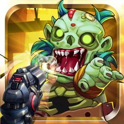 Shooting Zombies Crush-shooting And Run For Survive Zombie Game