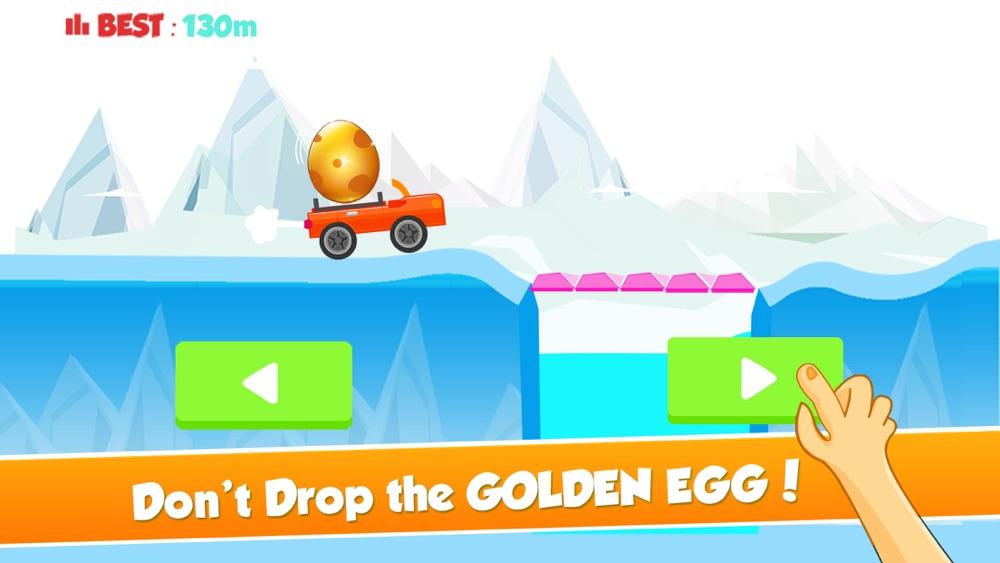 Tiny Car on Risky Road Adventure - Don't Fall the Big Golden Egg hack tool