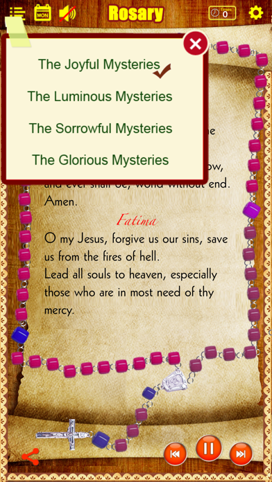 Rosary Deluxe for iPhone/iPad (The Holy Rosary)のおすすめ画像3