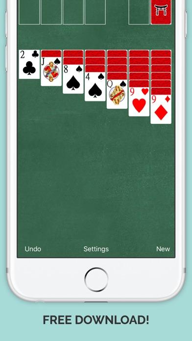 Amazing Ninja Mini Solitaire Impossible Card Run Pro Screenshot
