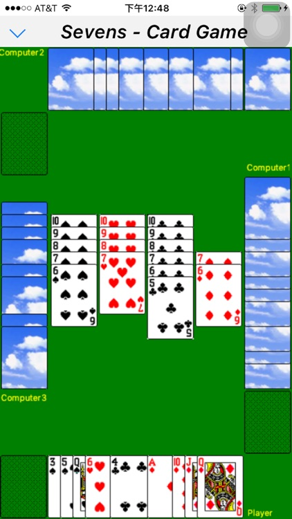 Classic card game - Sevens