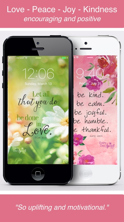 Every Day Spirit® Lock Screens - Inspirational Wallpaper / Wisdom Quotes / Beautiful Backgrounds / Motivational Wallpapers screenshot-4