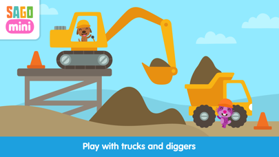 Sago Mini Trucks and Diggers Screenshot