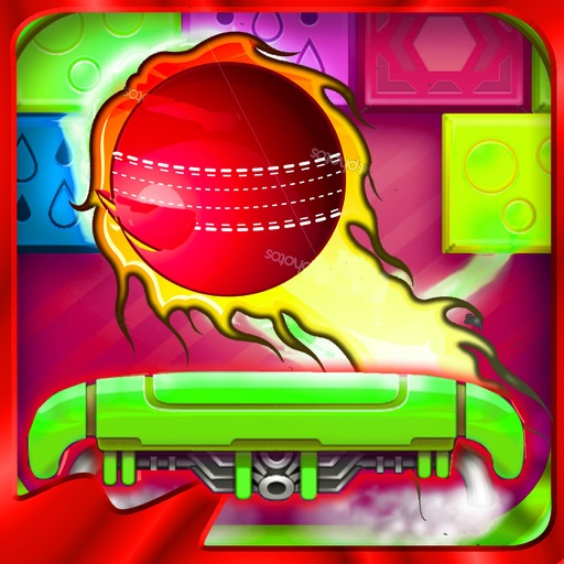A Powerful Ball Against The Bricks - Galactic Bricks Breaking Game