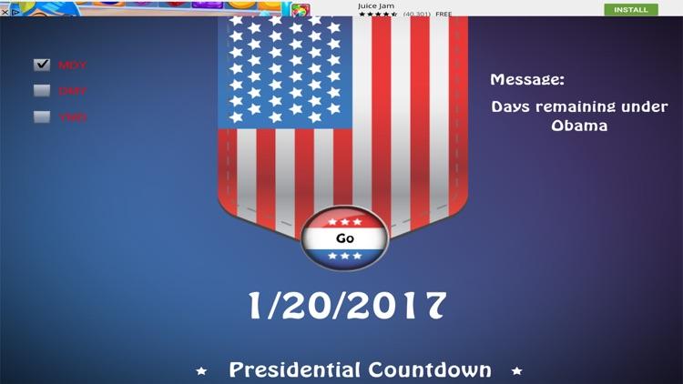 Presidential Countdown Free