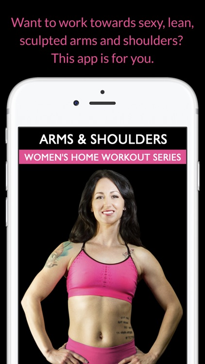 Arms & Shoulders: Women's Home Workout Series