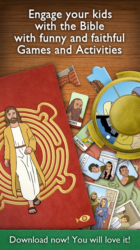Children's Bible Games for Kids, Family and School - Online