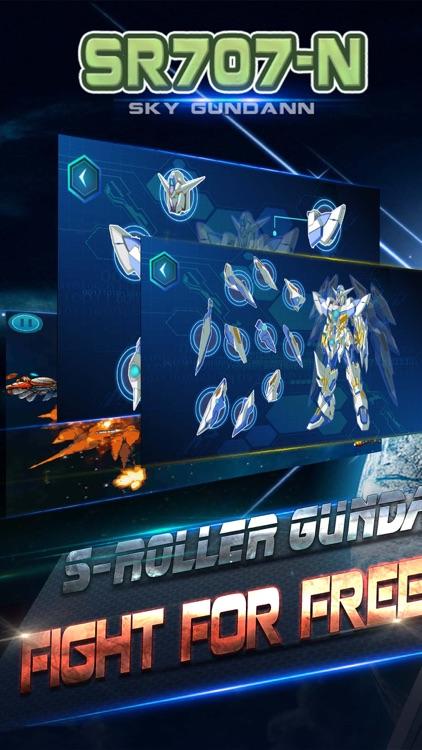 SR707-N: Sky Roller for Gundann Free, Simulator, Endless Shooting