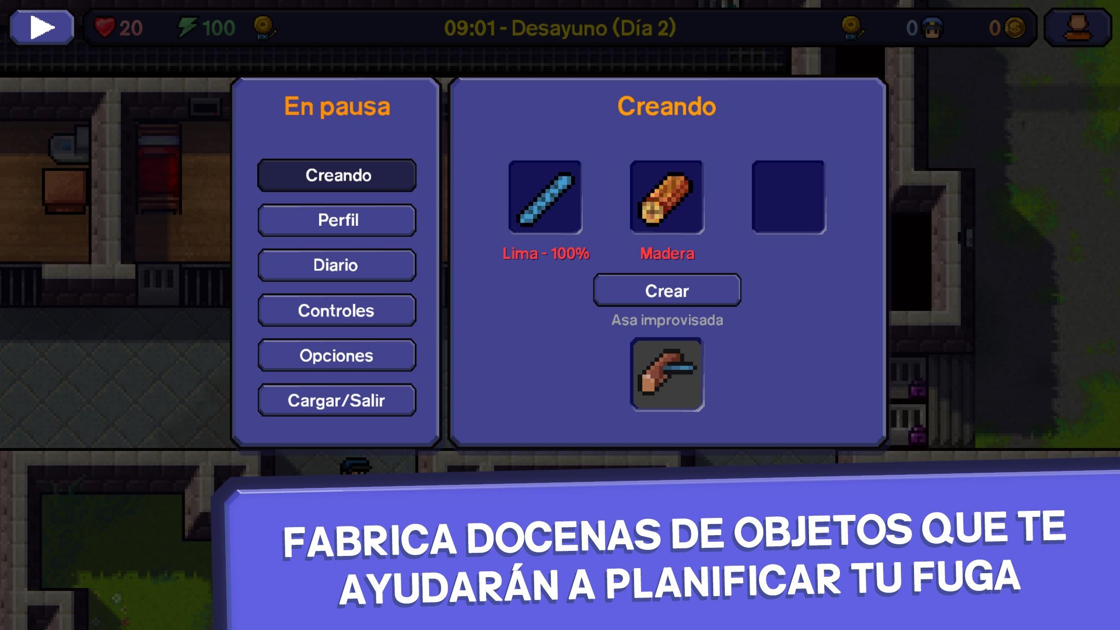 The Escapists: Fuga de la pris Screenshot