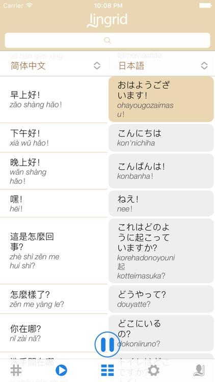 Lingrid - Language Cloud - Translate & Learn Lingo