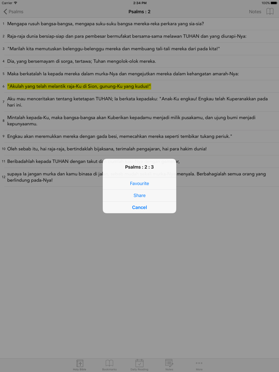 Alkitab: Easy to use Indonesian Bahasa Holy Bible App for daily