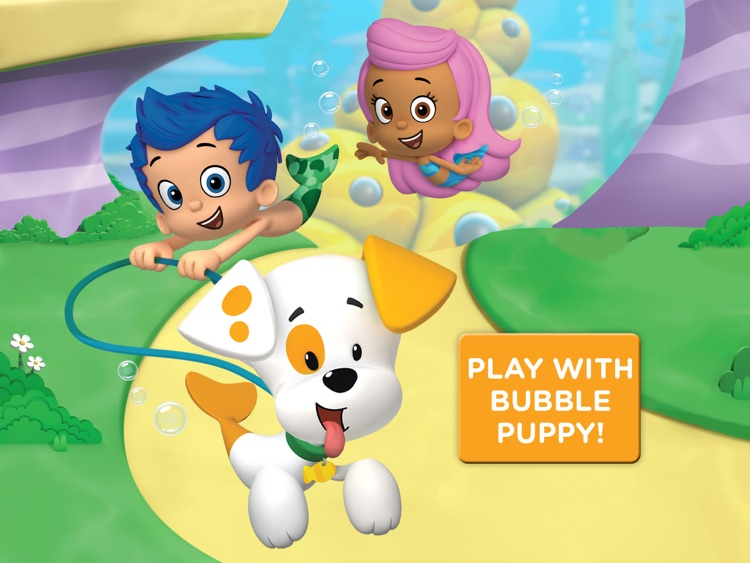 Bubble Puppy: Play and Learn for iPad - Bubble Guppies Kids Game screenshot-0