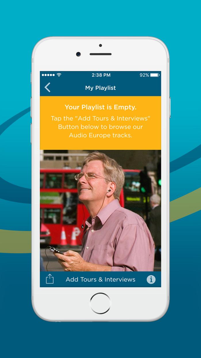 Rick Steves Audio Europe™ Screenshot